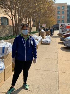 Lisa Wallace organized the group buy of surgical masks