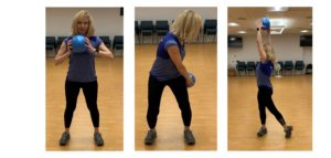 cross chops with squat